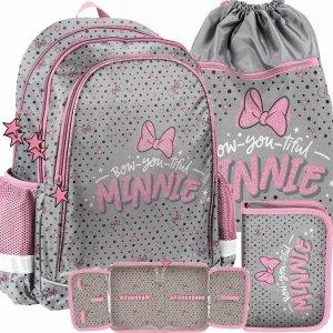Nowy Plecak Myszka Minnie Dziewczęcy do Szkoły [DNF-081]