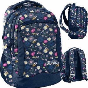 Lekki Plecak Młodzieżowy Kwiaty dla Dziewczyny Szkolny [PPSP20-2808]
