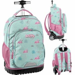 Plecak na Kółkach Flamingi Duży Młodzieżowy Szkolny [PPLF19-1231]
