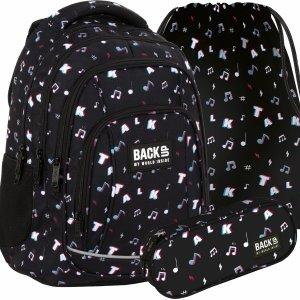 Tik Tok BackUP Szkolny Plecak Młodzieżowy Nutki [PLB4A16]