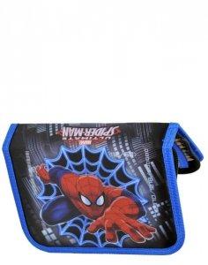 Piórnik Spiderman dla Chłopaka Szkolny z Wyposażeniem [SPD-001]