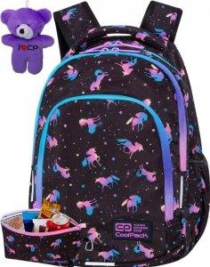 Cp Młodzieżowy Plecak CoolPack Jednorożec Dziewczęcy DARK UNICORN [C25230]