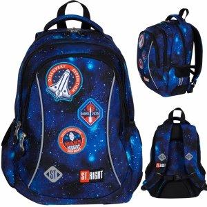 Nasa Plecak Młodzieżowy St.Right dla Chłopaka Misja Kosmiczna [BP26]