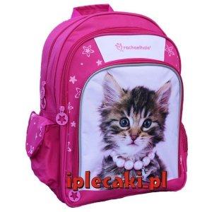 Plecak z Kotkiem Kotem Kot Kotki Szkolny dla Dziewczyny