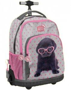 Plecak na Kółkach Piesek Labrador dla Dziewczyny [PTB-887]