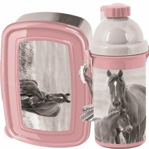 Śniadaniówka Bidon Koń Konie dla Dziewczynki [PP20KO-3022]