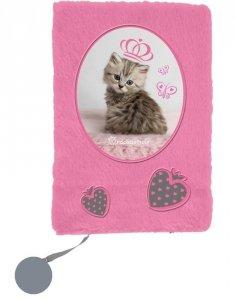 Pluszowy Pamiętnik z Kotkiem Kot dla Dziewczynki Paso [RHV-3670]