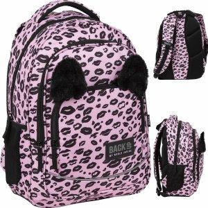 Plecak z Uszami BackUP Szkolny Różowy Panterka [PLB3YA17]