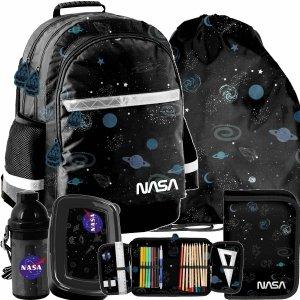 Plecak Szkolny NASA Kosmos dla Uczniów zestaw 5w1 [PP21NS-116]