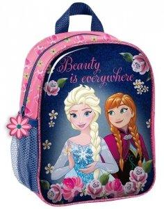 Plecak Frozen 3D dla Dziewczyny Kraina Lodu na Wycieczki do Przedszkola [DOF-503]