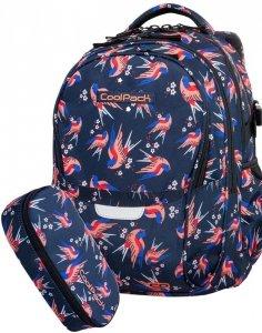 Plecak CoolPack Młodzieżowy Colibri Szkolny Piórnik [B02012]