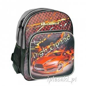 Plecak Szkolny z Autem Cyber Car Paso dla Chłopaka 13-162D