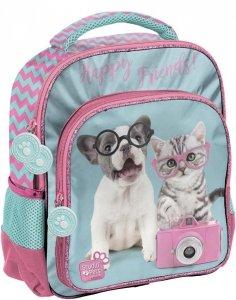 Plecak do Zerówki Przedszkolny Wycieczkowy z Kotem Peskiem [PTK-337]