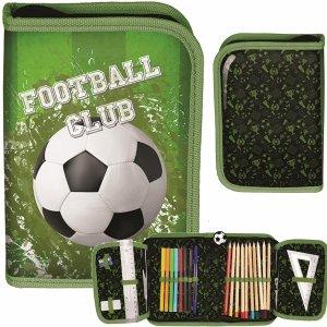 Piórnik z Wyposażeniem Piłka Nożna dla Chłopaka Rozkładany [PP20FO-001]