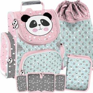 Dziewczęcy Tornister dla Dziewczynek Misie Panda Szkolny [PP21PD-525]