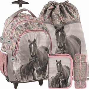 Konie na Plecaku na Kółkach w Konie Szkolny dla Dziewczyny [PP20KO-997]