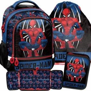 Szkolny Chłopięcy Plecak do Szkoły podstawowej SpiderMan [SPY-260]