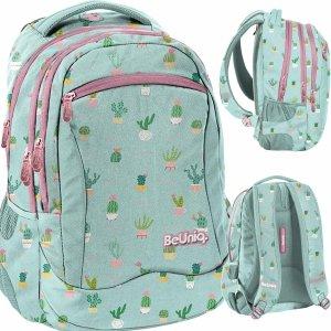 Kaktusy Plecak Młodzieżowy Szkolny Dziewczęcy [PPMT20-2808/16]