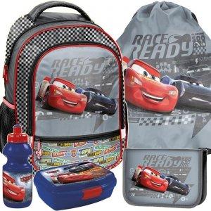 Plecak Szkolny Zygzak Cars dla Chłopaka Zestaw [DSA-260]