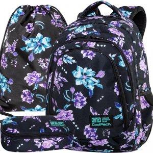 CP Plecak CoolPack Młodzieżowy Violet Dream Modny Komplet [C10198]