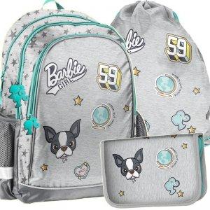 Plecak Barbie do Szkoły Zestaw dla Dziewczyny [BAR-081]