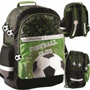 Piłkarski Plecak Szkolny z Piłką Nożną dla Chłopaka [PP20FO-116]