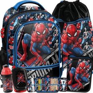 Nowy Plecak Szkolny Spider Man Chłopięcy Komplet Marvel [SPW-260]
