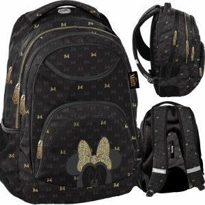 Plecak Myszka Minnie Czarny dla Dziewczyny Nastolatki BeUniq [DISG-2708]