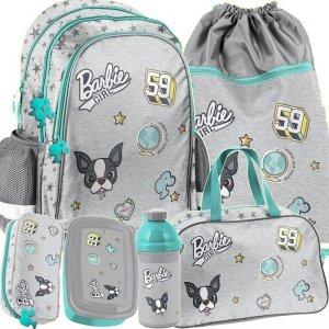 Plecak dla Dziewczynek z Barbie Szkolny Komplet [BAR-081]