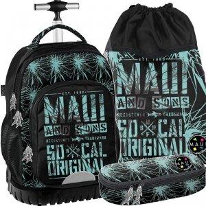 Chłopięcy Plecak na Kółkach Młodzieżowy Maui&Sons [MAUD-1231]