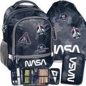 Plecak Nasa Szkolny dla Chłopaka Kosmiczny do 1 klasy [PP21NA-260]