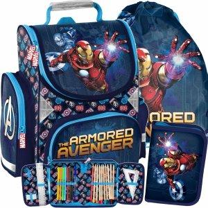 Iron Man Tornister Avengers dla Chłopaków do Szkoły Paso [AIN-525]