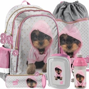 Piekny Dziewczęcy Szkolny Plecak York w Bluzie Paso [PTJ-081]