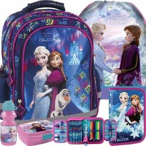 Plecak Frozen Kraina Lodu dla Uczennicy do Szkoły Podstawowej [PL15BKL24]