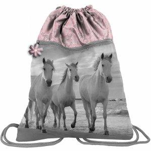 Duży Worek w Konie 2-Komorowy na Buty Kapcie Obuwie [PP21HO-713]