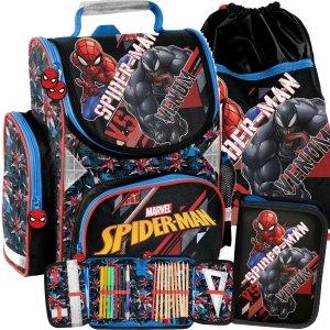 Tornister do Szkoły dla Chłopaków do 1 Klasy Venom Spiderman [SPX-525]