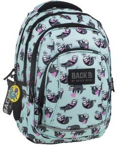 Plecak Młodzieżowy Leniwce BackUP Szkolny dla Dziewczynki [PLB2A21]