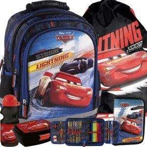 Plecak Auta Cars Szkolny dla Uczniów do Szkoły Podstawowej Zygzak [PL15BCA44]