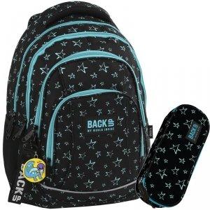 Plecak w Gwiazdki Młodzieżowy Zestaw BackUP Szkolny [PLB2A33]