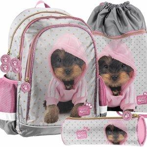 Nowy Dziewczęcy Szkolny Plecak York w Bluzie Paso [PTJ-081]