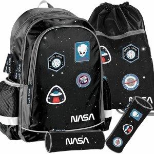 Nowy Chłopięcy Szkolny Plecak Nasa Kosmiczny Paso [PP20NS-081]