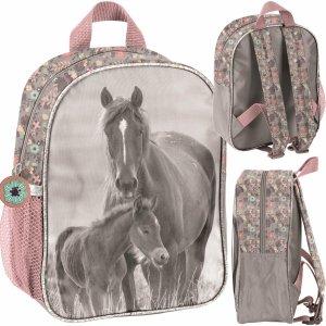 Mały Plecak Plecaczek dla Przedszkolaka na Wycieczki w Konie Paso [PP20KO-303]