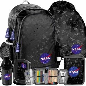Nasa Zestaw 5w1 Plecak Szkolny dla Chłopaka Kosmiczny [PP21NN-081]