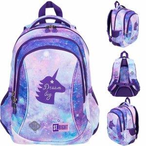 St.Right Plecak dla Dziewczyny Jednorożec Unicorn [BP26]