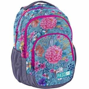 Plecak Młodzieżowy Kwiaty [18-2706EW]