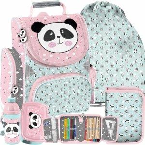 Tornister dla Dziewczyny Miś Panda Paso do Szkoły [PP21PD-525]
