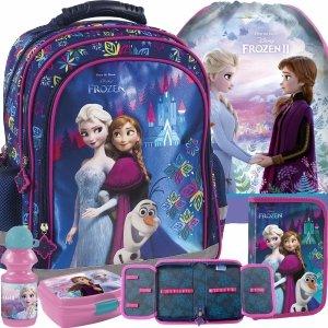 Frozen Plecak Kraina Lodu Dziewczęcy do Szkoły Podstawowej [PL15BKL24]
