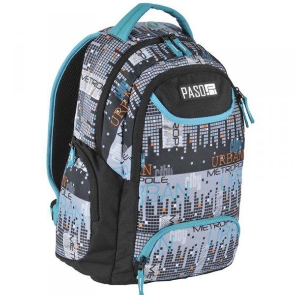 Plecak Młodzieżowy Szkolny Piksele Unique 17-2908UM