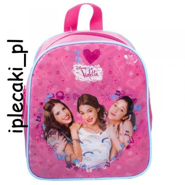 Plecaczek Mały Plecak Violetta dla dziewczynki DVI-008