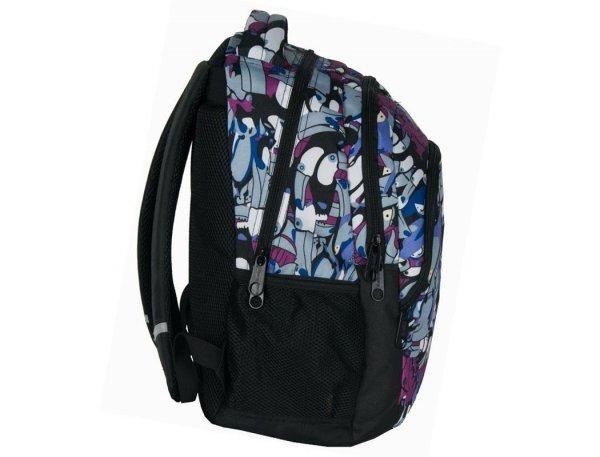 Plecak Młodzieżowy Szkolny Tukany dla Dziewczyny